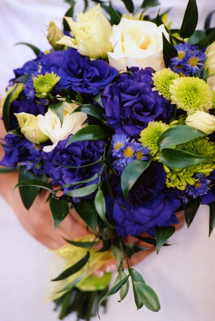 Purple-Boquet